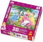 Trefl: Puzzle 3D 72el. Disney Księżniczki: Różany ogród w sklepie internetowym Sklep-onyks.pl