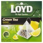 Herbata eksp. LOYD piramid. 20t. Green Lemon w sklepie internetowym Biurowe-zakupy.pl