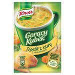Zupa KNORR Gorący Kubek 12g x 40op. - rosół z kury w sklepie internetowym Biurowe-zakupy.pl