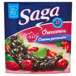 Herbata eksp. SAGA owocowa cz.porzeczka op.25 w sklepie internetowym Biurowe-zakupy.pl