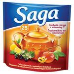 Herbata eksp. SAGA czarna z witaminą C op.25 w sklepie internetowym Biurowe-zakupy.pl