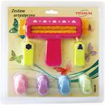 Zestaw kreatywny TITANUM z karbownicą 242924 w sklepie internetowym Biurowe-zakupy.pl