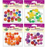 Pompony TITANUM mix kolorów op.25 282756 w sklepie internetowym Biurowe-zakupy.pl