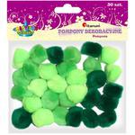 Pompony TITANUM zielone op.30 283065 w sklepie internetowym Biurowe-zakupy.pl