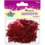 Dekoracje TITANUM konfetti choinki 284798 w sklepie internetowym Biurowe-zakupy.pl