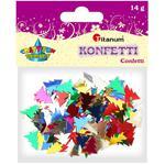 Dekoracje TITANUM konfetti choinki mix 284802 w sklepie internetowym Biurowe-zakupy.pl
