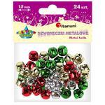 Dekoracje TITANUM dzwonki mix op.24 307919 w sklepie internetowym Biurowe-zakupy.pl