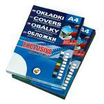 Okładki do bind. ARGO Exclusive 400mic A4 - niebie w sklepie internetowym Biurowe-zakupy.pl