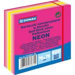 Karteczki samop. DONAU 76x76 400k neon - różowy w sklepie internetowym Biurowe-zakupy.pl