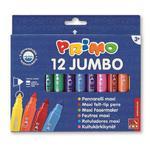 Flamastry PRIMO Jumbo 12 kolorów w sklepie internetowym Biurowe-zakupy.pl