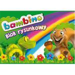 Blok rysunkowy BAMBINO A4 20k. 115g. - biały w sklepie internetowym Biurowe-zakupy.pl