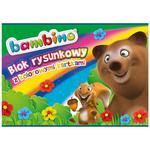 Blok rysunkowy BAMBINO A4 16k. - kolorowy w sklepie internetowym Biurowe-zakupy.pl