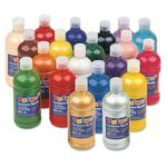 Farba plakatowa PRIMO 500ml. butelka - niebieska w sklepie internetowym Biurowe-zakupy.pl