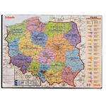 Podkład na biurko ESSELTE - mapa Polski 12051 w sklepie internetowym Biurowe-zakupy.pl