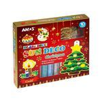Farby witrażowe AMOS 10kol.+witraże CHRISTMAS SD10P10-CH 170-2368 w sklepie internetowym Biurowe-zakupy.pl