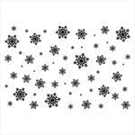 194 Stempel - Śnieżynki : tło w sklepie internetowym CraftyMoly