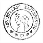009 Stempel okrągły vintage - Wszystkiego Najlepszego w sklepie internetowym CraftyMoly