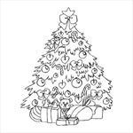 Stempel - Choinka - tło w sklepie internetowym CraftyMoly