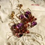 Złota Kolekcja-Różowe turmaliny w złocie w sklepie internetowym Trendymania.pl
