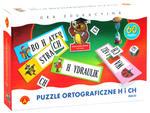 Puzzle ortograficzne h i ch - MAXI w sklepie internetowym TerazGry.pl