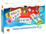 Puzzle ortograficzne rz i ż - MAXI w sklepie internetowym TerazGry.pl