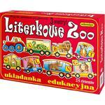Układanka Literkowe Zoo ADAMIGO w sklepie internetowym TerazGry.pl