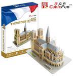 PUZZLE 3D Notre Dame de Paris CUBICFUN w sklepie internetowym TerazGry.pl