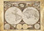 Puzzle 2000 el. Historyczna mapa świata w sklepie internetowym TerazGry.pl