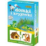 Puzzle Eduk. Domki i Kryjówki ADAMIGO w sklepie internetowym TerazGry.pl