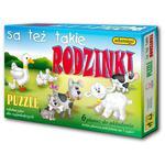 Puzzle Są też takie rodzinki ADAMIGO - Poznań, hiperszybka wysyłka od 5,99zł! w sklepie internetowym TerazGry.pl