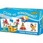 Ukł. Puzzle Czyje to mieszkanko? ADAMIGO w sklepie internetowym TerazGry.pl