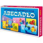 Układanka puzzlowa Abecadło ADAMIGO w sklepie internetowym TerazGry.pl