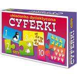 Układanka puzzlowa Cyferki ADAMIGO w sklepie internetowym TerazGry.pl