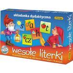 Układanka Wesołe Literki ADAMIGO w sklepie internetowym TerazGry.pl