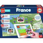 150EL. Puzzle Mapa z Aplik, Francja EDUCA w sklepie internetowym TerazGry.pl
