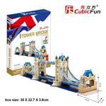 Tawer Bridge 120 el. PUZZLE 3D w sklepie internetowym TerazGry.pl