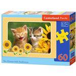 60 EL. Dwa Koty ze słonecznikami CASTOR w sklepie internetowym TerazGry.pl
