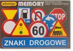 MEMORY ZNAKI DROGOWE ADAMIGO w sklepie internetowym TerazGry.pl