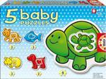 BABY PUZZLE ANIMALS EDUCA w sklepie internetowym TerazGry.pl