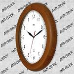 Zegar drewniany rondo rewers lustro #1 w sklepie internetowym Atrix.pl