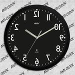 Zegar rewers lustrzany czarna tarcza w sklepie internetowym Atrix.pl