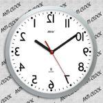 Zegar rewers lustrzany biała tarcza w sklepie internetowym Atrix.pl