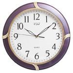 Zegar ścienny z perłową ramką fiolet w sklepie internetowym Atrix.pl