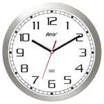 Kwarcowy zegar aluminiowy Super Cichy /30cm w sklepie internetowym Atrix.pl