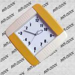 Anty-zegar ścienny kolorowy kwadrat w sklepie internetowym Atrix.pl