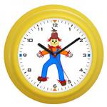 Zegar naścienny kolor strach na wróble w sklepie internetowym Atrix.pl