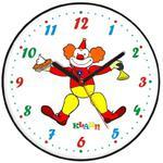 Zegar ścienny dla dzieci klaun w sklepie internetowym Atrix.pl