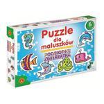 Puzzle dla maluszków - Podwodne zwierzątka w sklepie internetowym ZagrajSAM.pl