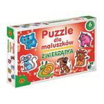 Puzzle dla maluszków - Zwierzątka w sklepie internetowym ZagrajSAM.pl