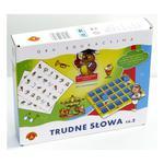 Trudne słowa - cz. 2 - gra logopedyczna w sklepie internetowym ZagrajSAM.pl